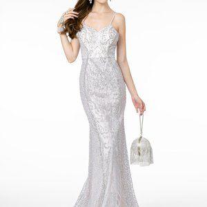 Sweetheart Neck Sheath Shape Prom Dress GSGL2936